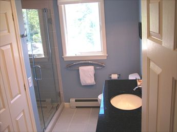 New First Floor Bathroom with step in shower