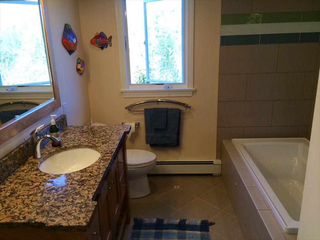 New upstairs bathroom