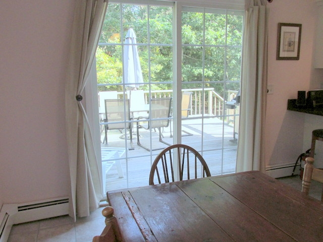 Dining Area to Back Deck