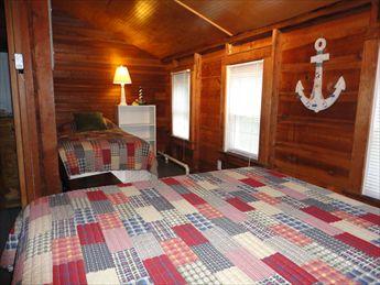 Second Floor Bedroom %353 with Queen and Twin