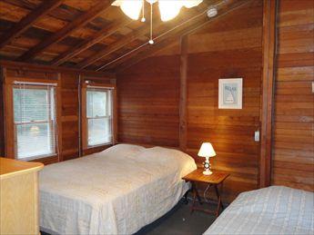 Second Floor Bedroom %354 with Queen and Twin