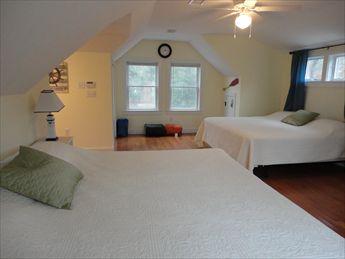 Second Floor Bedroom %351 with 2 King beds