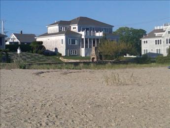 Bayview beach view toward house
