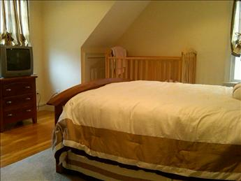 2nd floor queen bedroom next to full bath