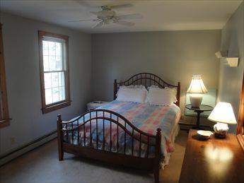 2nd floor bedroom with queen