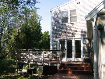 Back of Home with Deck