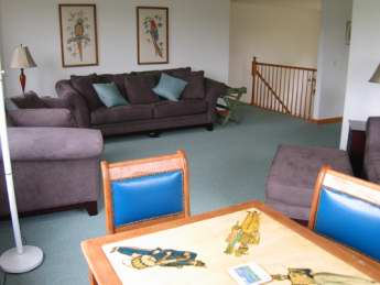 Second Floor Living Area view %352 (second living area with TV is off to the right)