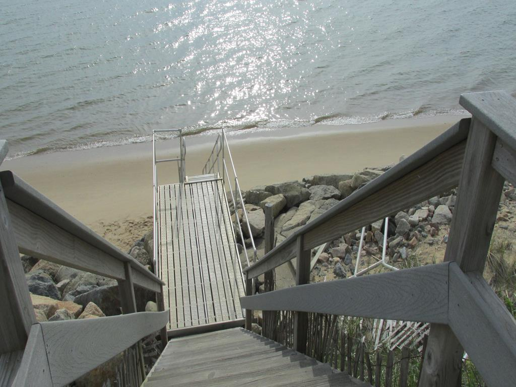 Stairs to the Bay