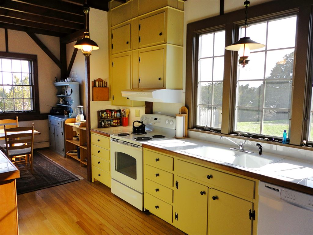 Bright kitchen will all new appliances and countertops