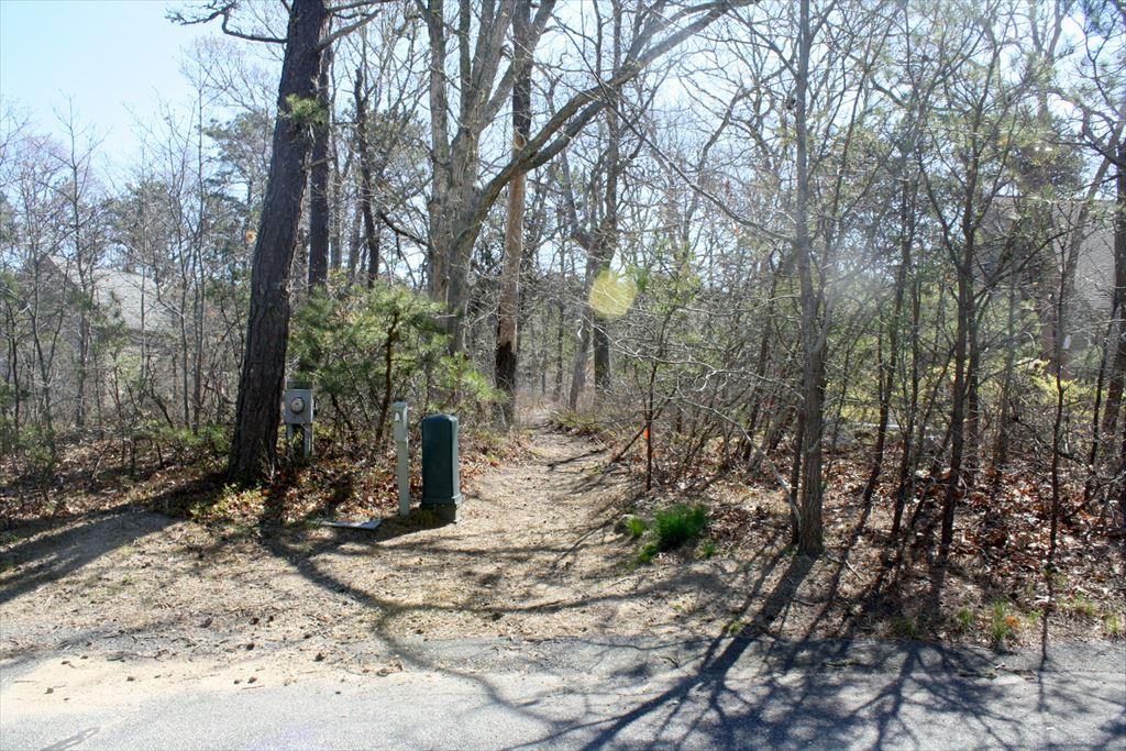 Bike Trail Entry Path On Oakwood Road