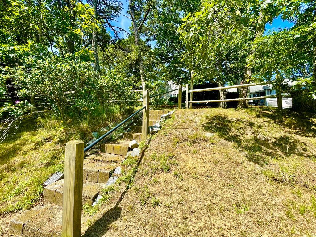 Walk to Forest Beach on Nantucket Sound