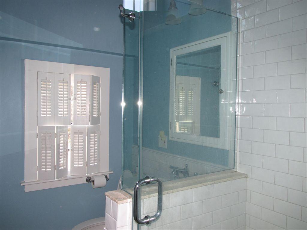 New second floor bathroom