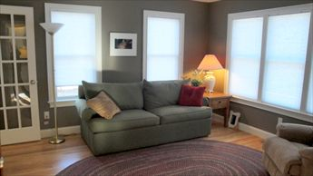 Den with Pull Out Sofa