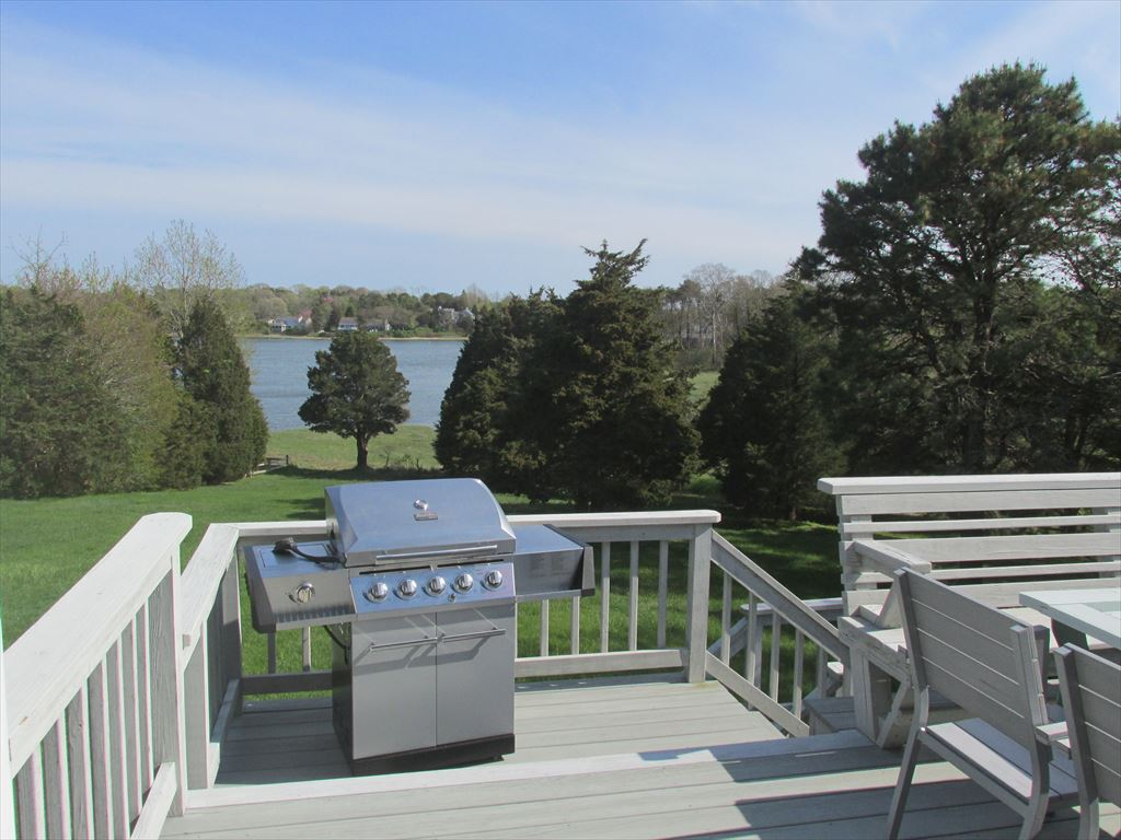 Deck and water view