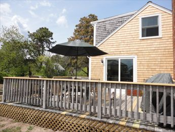 NICE large DECK with Gas Grill