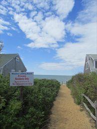 Path to Assoc Private Beach