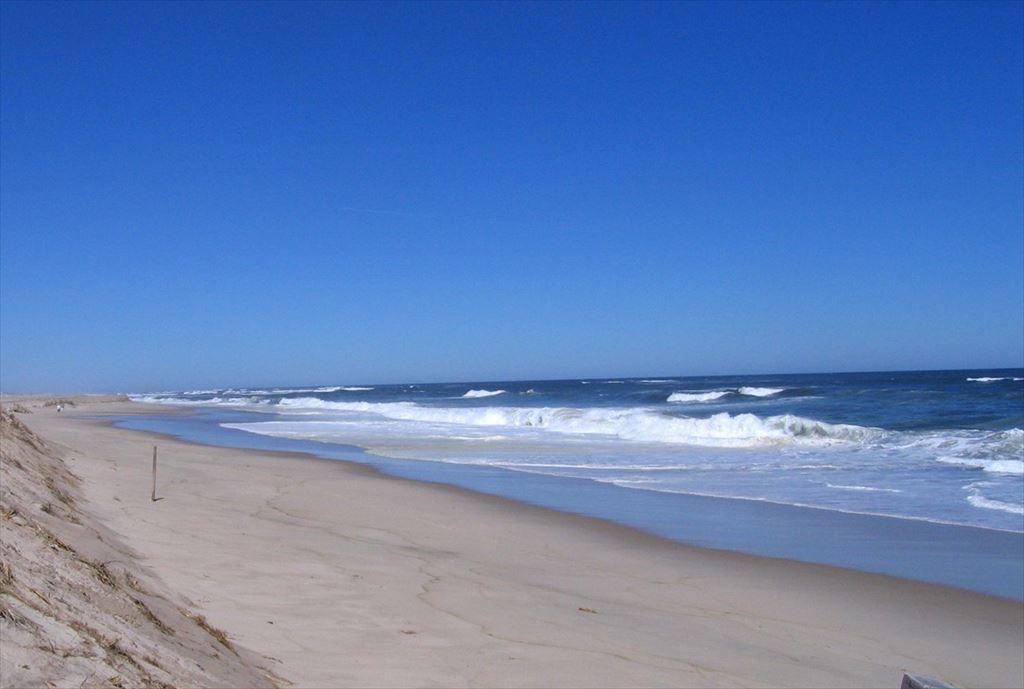 Crashing waves Nauset Beach on the Atlantic Ocean