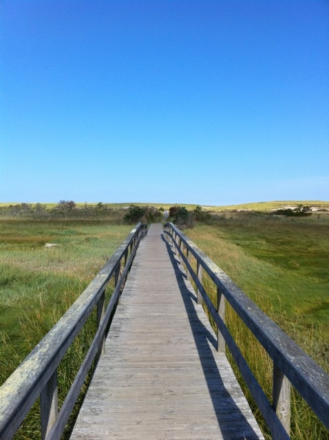 Footbridge from Pochet to Nauset Beach