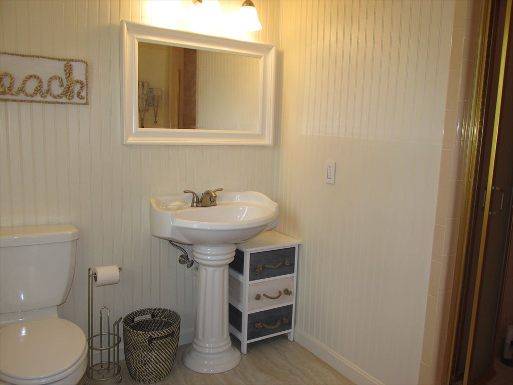 First Floor bath with stall shower