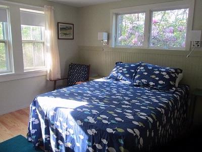 Main Floor Bedroom with queen and one twin