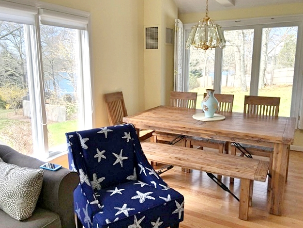 Eating Area with gorgeous views