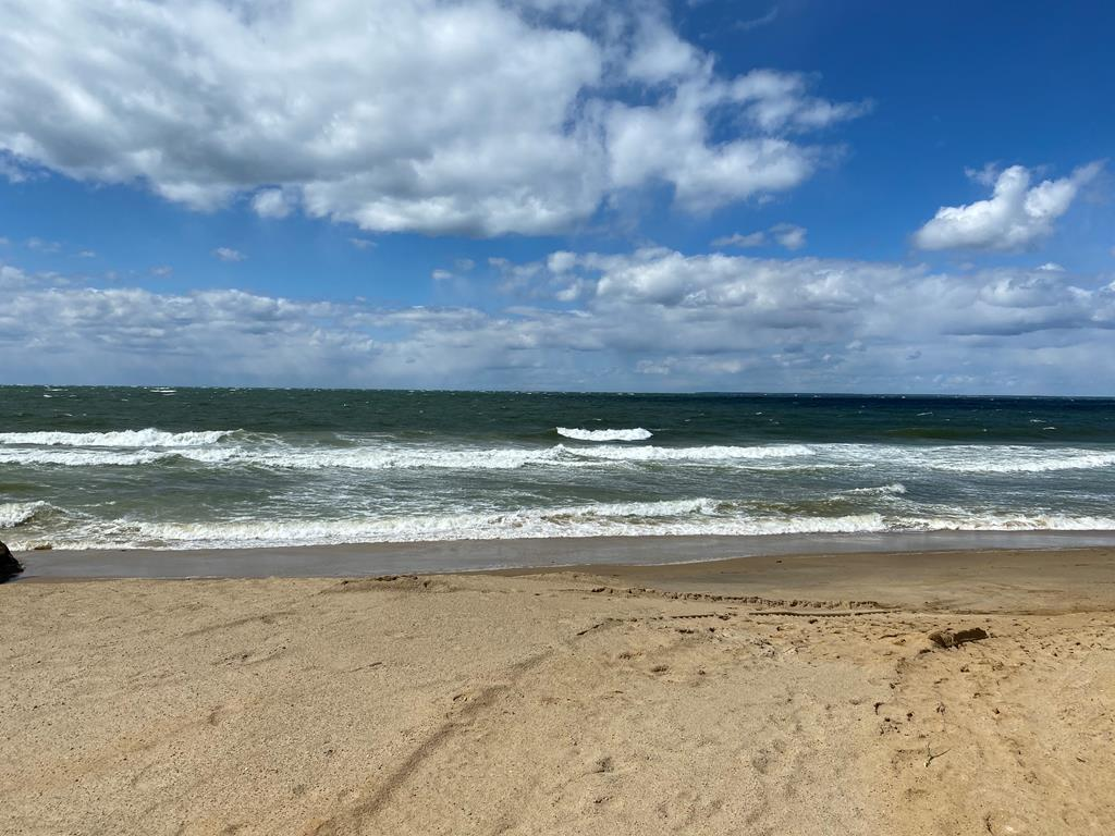 Ellis Landing Beach, a 4/10 mile walk from the home, a private beach we have access to.