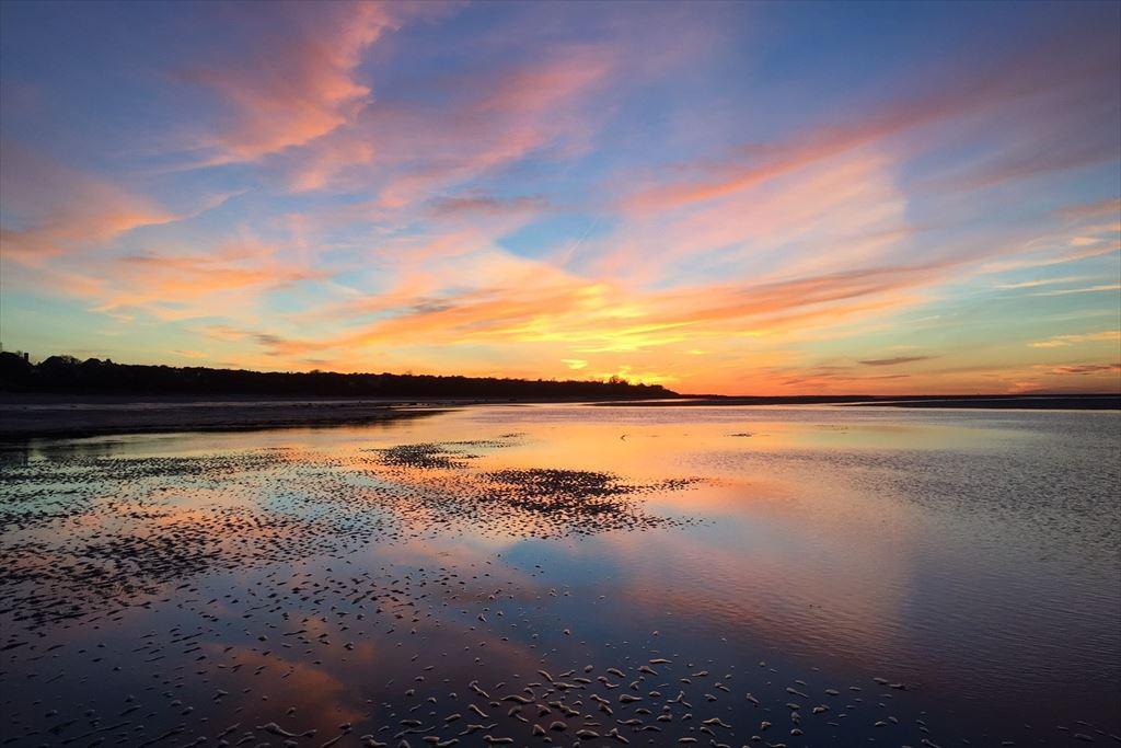 Sunset at Ellis Landing