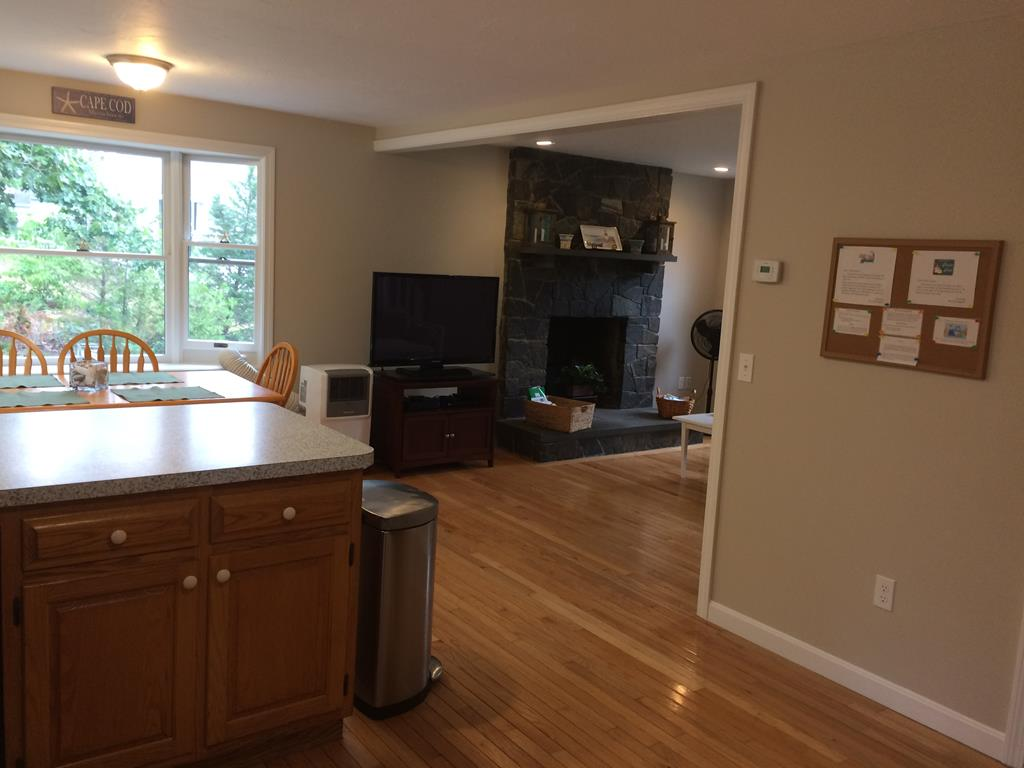 Kitchen to Dining/Living Area