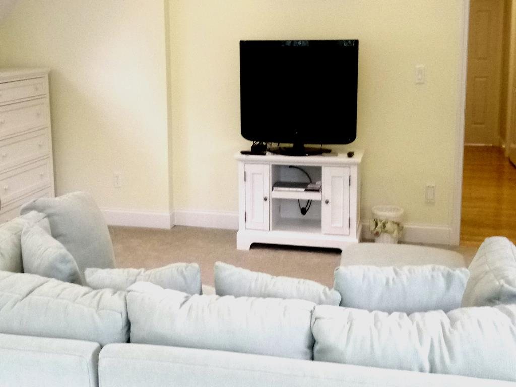 Family Room TV on Second Floor