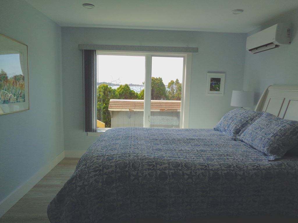 Capturing the view outside the second bedroom