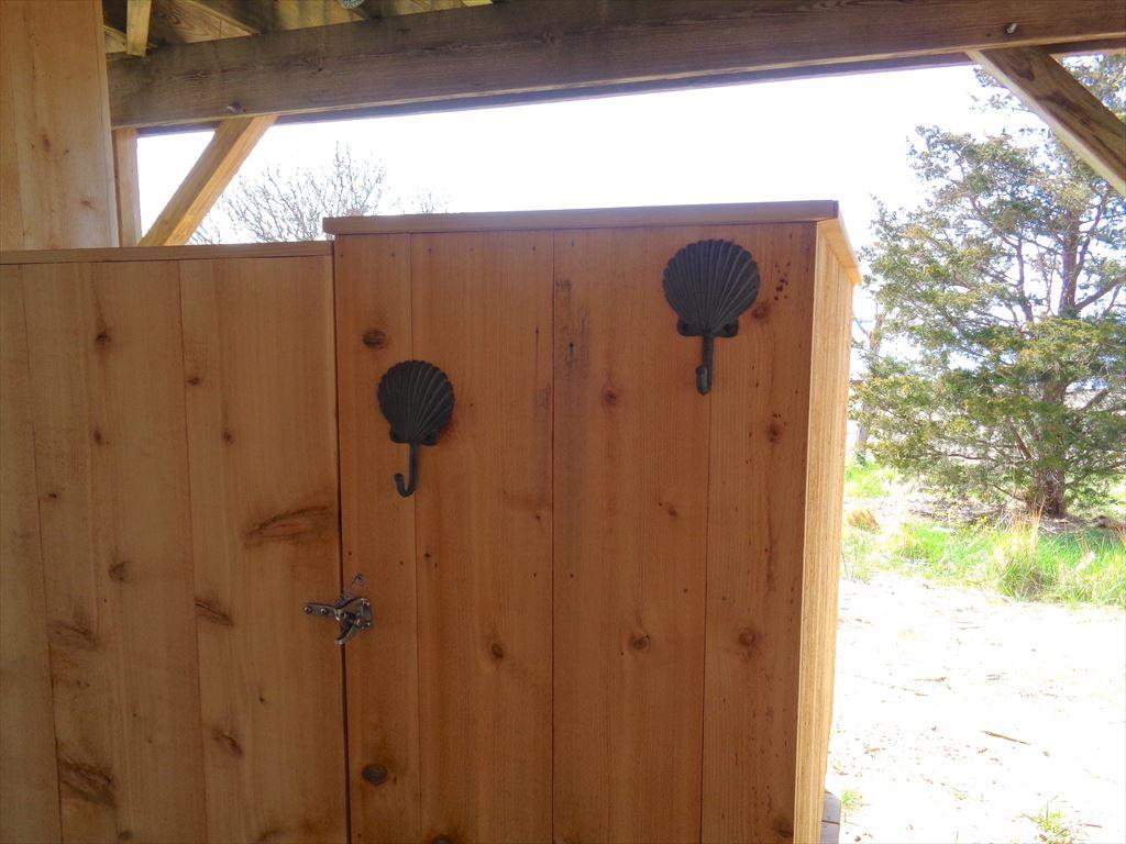 Cedar Outdoor Shower With Views!