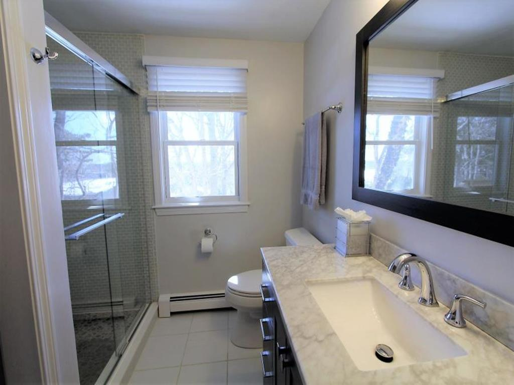 First Level Bathroom with laundry