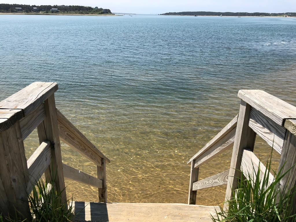 Pleasant Pt. Landing is a nice place to walk to with your beach towel and take a dip at mid-high tide or launch your kayak and explore