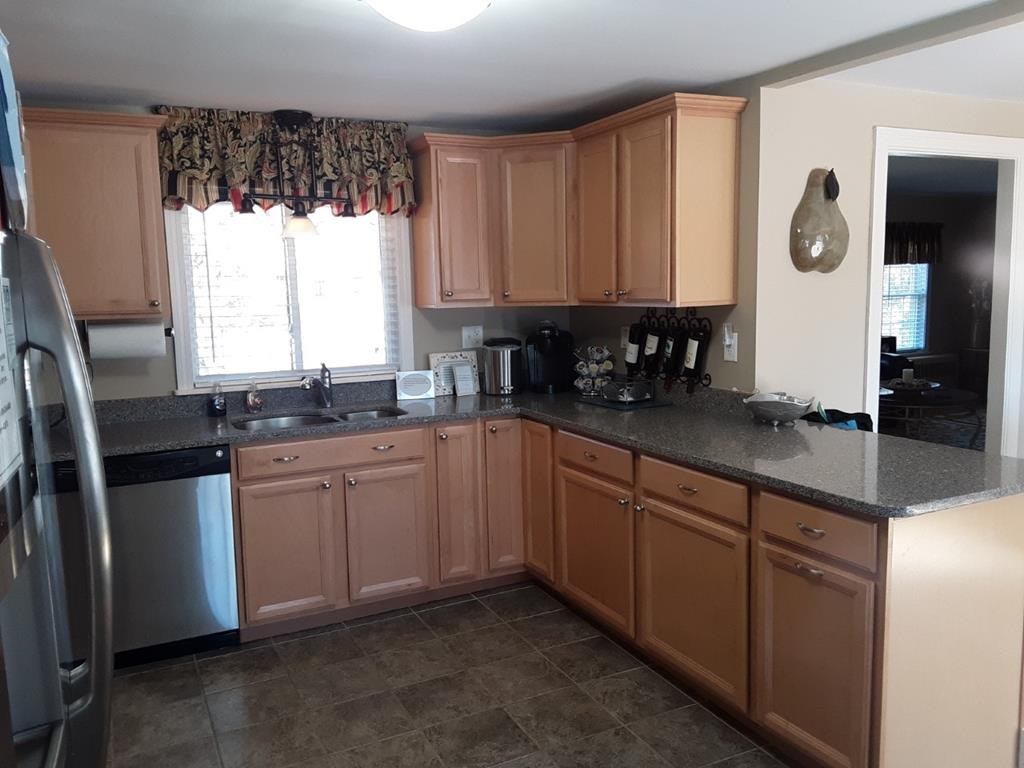 Remodeled Kitchen with stainless appliances